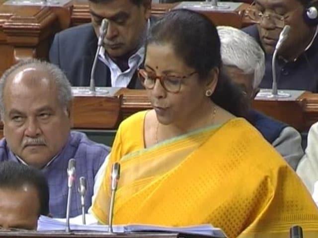 Video: Budget 2020: Nirmala Sitaraman Announces Rs 69,000 Crore For Health Sector