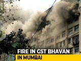 Video : Fire Breaks Out At Government Building In Mumbai, No One Injured