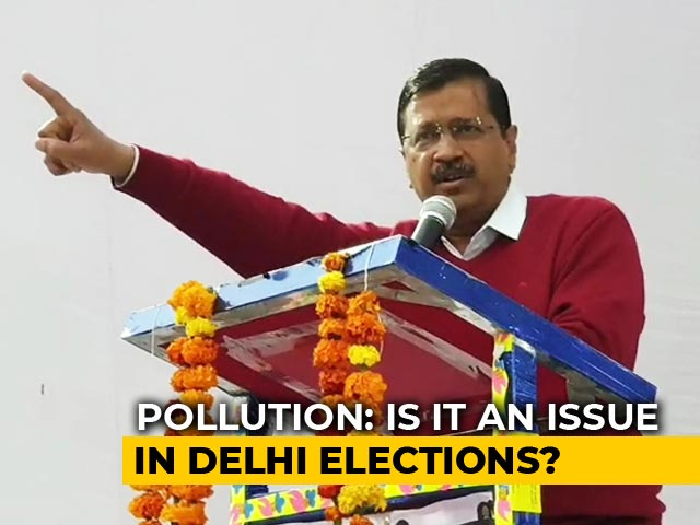 Video : Delhi Elections 2020: Poll Promises On Pollution
