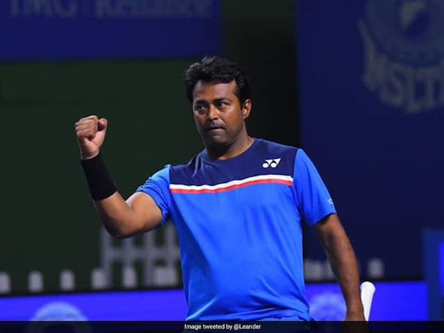 Leander Paes Named In Indias Davis Cup Squad For Croatia Tie