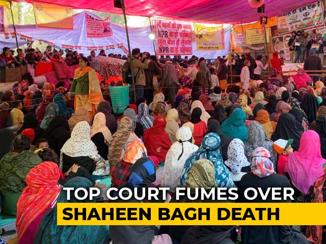 """Video : """"4-Month-Old Goes For Protest?"""" Top Court Fumes Over Shaheen Bagh Death"""