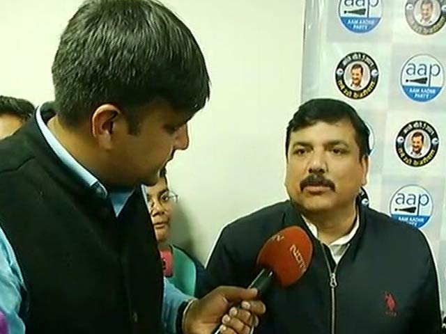 Video : Delhi Defeated BJP's Politics Of Hate, Says AAP's Sanjay Singh