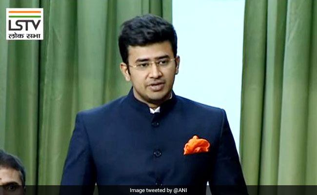 Tejasvi Surya Called Out For Misogyny Over Old Tweet, Now Deleted