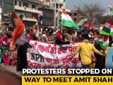 Video : Shaheen Bagh Protesters Marching To Amit Shah's House Turn Back