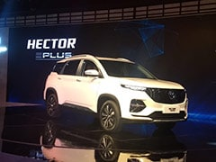 MG Hector Plus India Launch Details Out