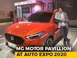Sponsored: MG Motor Pavilion At Auto Expo 2020