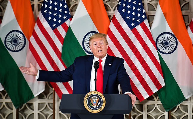 """Markets Will Jump Thousands Of Points If I Win,"" Trump Tells India Inc"
