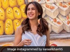 Sara Ali Khan का मिठाई देखकर हुआ बुरा हाल, शायराना अंदाज में बोलीं- छोले भठूरे तैयार रखो भाई...देखें Viral Video