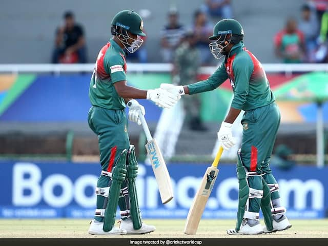 Under-19 World Cup: Bangladesh Beat New Zealand, Set Up Final With India