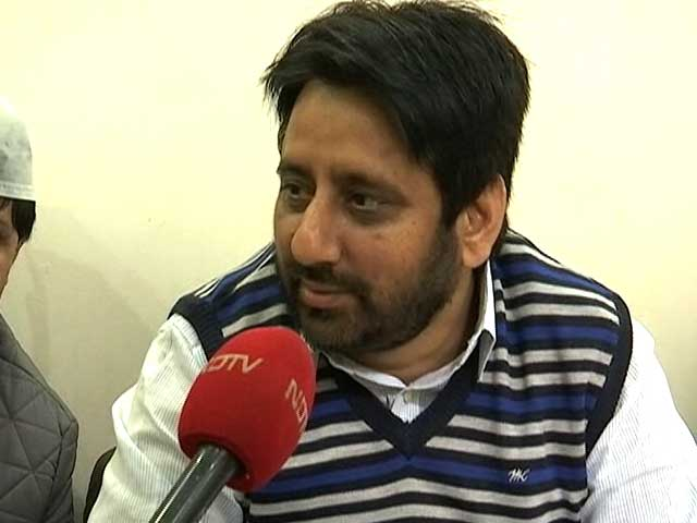 Video : People Want Electricity, Water: AAP MLA Amanatullah Khan