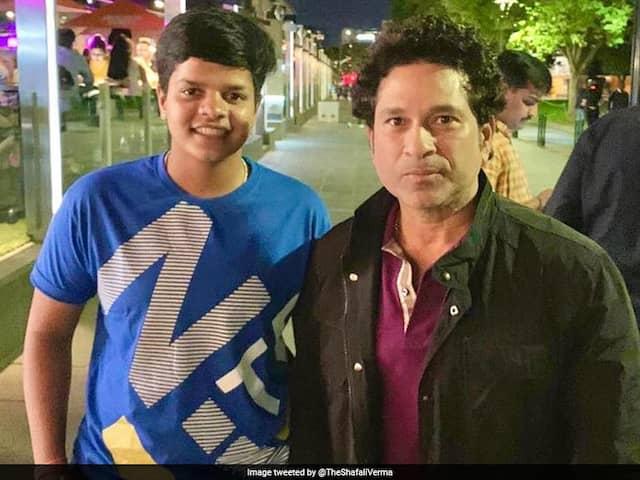 """Dream Come True"": Teen Sensation Shafali Verma On Meeting Sachin Tendulkar"