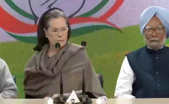 Sonia Gandhi Slams Centre's 'Shocking Insensitivity And Arrogance' Towards Farmers