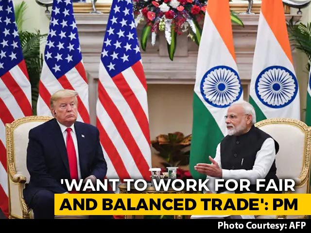 "Video : India, US To Start ""Big Trade Deal"" Negotiations: PM Modi"