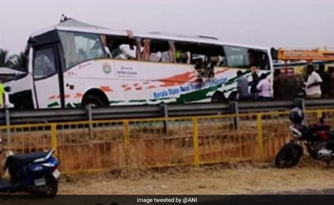 19 Dead After Container Comes Off Truck, Hits Passenger Bus In Tamil Nadu