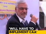 "Video : ""Have To Implement"": Rajasthan Speaker On Chief Minister Ashok Gehlot Opposing CAA"