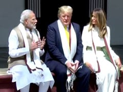 "Donald Trump Thanks ""Great Friend Modi"" In Sabarmati Note, No Gandhi Mention"