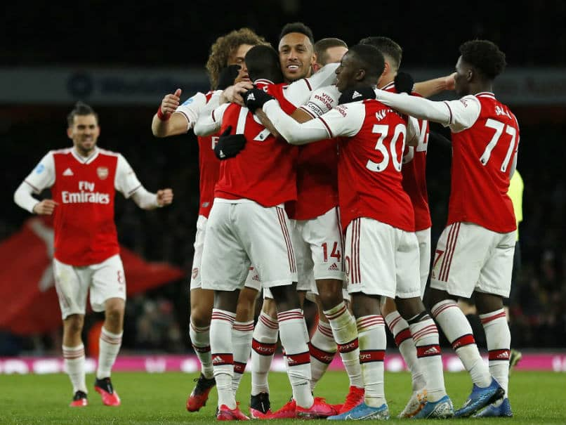 Premier League: Mikel Arteta Hails Pierre-Emerick Aubameyang As Arsenal Down Everton
