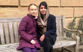 """Friend I'd Skip School For"": Malala Yousafzai On Meeting Greta Thunberg"