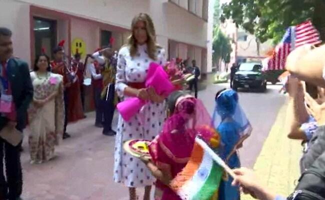 Arvind Kejriwal Tweets On Melania Trump's 'Happiness Class' Visit