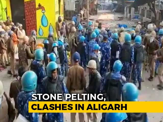 Video : Clashes In Northeast Delhi, UP's Aligarh During Citizenship Law Protests