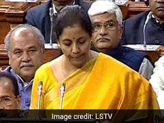 Early In Speech, Nirmala Sitharaman's Tribute To Arun Jaitley