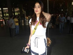 Janhvi Kapoor Proves That Athleisure Doesn't Have To Be Boring