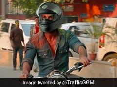 'कबीर सिंह' ने बिना हेलमेट के चलाई बाइक तो गुड़गांव पुलिस ने किया ये ट्वीट, बोले- 'कैसे बचाओगे प्रीति को...'