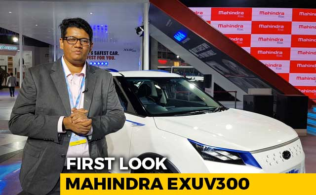 First Look Mahindra eXUV300