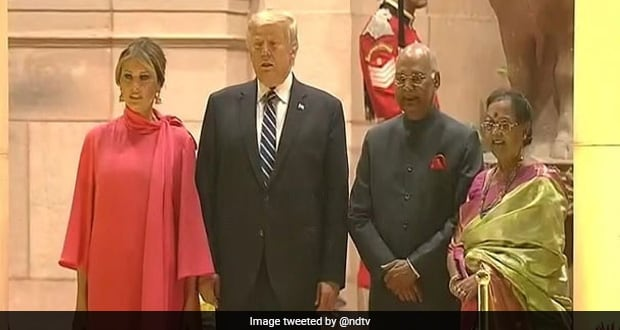 Donald Trump's Banquet Dinner Was A Melange Of Salmon, Aloo Tikki Chaat And More