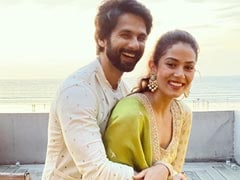 ICYMI: Shahid's Comment Is As Warm And Fuzzy As Wife Mira's Pic Of Them