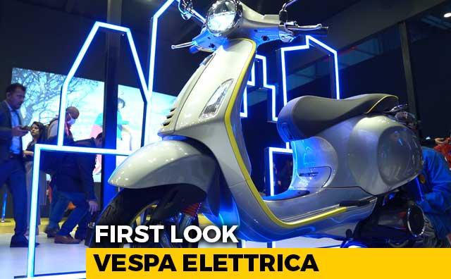 Video : Vespa Elettrica First Look