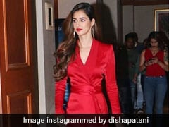 Disha Patani's Red Hot Dress Is Giving Us Major Wardrobe Envy