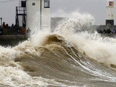 "Rare ""Danger To Life"" Warning Issued As Storm Dennis Hits Britain"