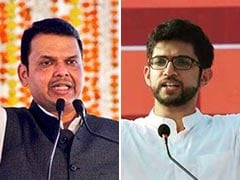 "Shiv Sena Wore ""Bangles"", Says Devendra Fadnavis, Aaditya Thackeray Responds"