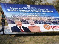 1 Lakh People For Roadshow: Official After Donald Trump's 70 Lakh Claim