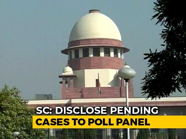 Video : Detail Candidates' Criminal History On Sites, Social Media: Supreme Court