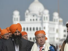 """Best Symbol Of Peace"": UN Chief Antonio Guterres At Kartarpur Sahib"
