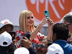 "Ivanka Trump's One-Word Reaction To ""<i>Namaste</i> Trump"" Event"