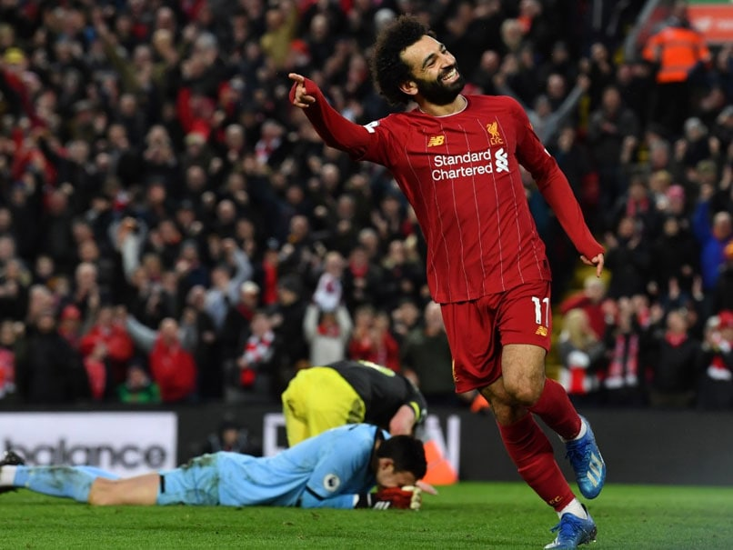 Premier League: Mohamed Salah Scores Twice As Liverpool Power 22 Points Clear