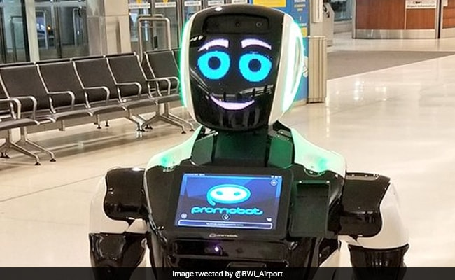 Promobot, The Robot With Coronavirus Advice, Hits New York's Times Square