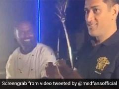 MS Dhoni ने विदेश में अपने हाथों से खिलाए लोगों को गोलगप्पे, देखकर लोग रह गए हैरान... देखें Video