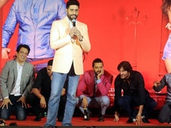 Riteish Deshmukh Recalls The Day When Birthday Boy Abhishek Bachchan 'Brought Entire <I>Housefull 3</i> Cast To Their Knees'