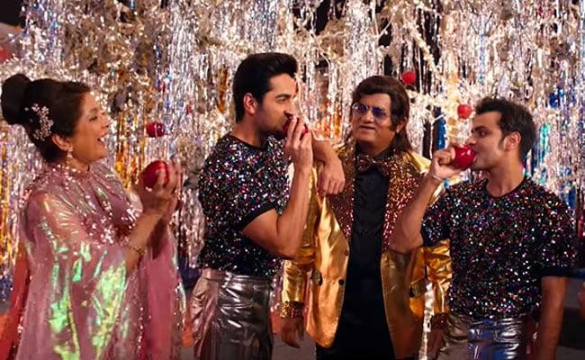 Shubh Mangal Zyada Saavdhan Song Arey Pyaar Kar Le: Ayushmann Khurrana, Jitendre Kumar, Neena Gupta And Gajraj Rao's Disco Dance Will Give You Retro Vibes