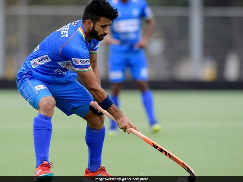 "India Hockey Captain Manpreet Singh ""Hopeful"" Of Olympic Medal In Tokyo"