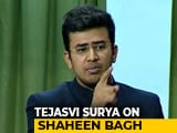"Video : ""Mughal Raj Not Far Away If..."": BJP's Tejasvi Surya On Anti-CAA Protesters"