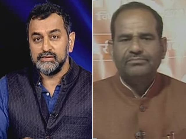 "Video : ""What's Wrong?"": On Delhi Polls Counting Day, BJP MP On ""Goli"" Speeches"