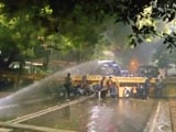 Video : JNU, Jamia Students Protest Near Arvind Kejriwal Home, Water Cannons Used