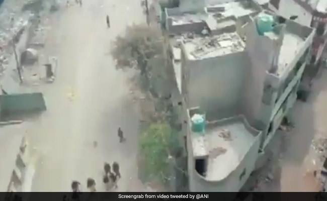 Drones Monitoring Situation In Violence-Hit Delhi Areas