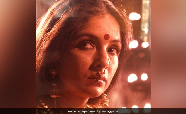 Neena Gupta As Draupadi In 1993 Film Still. 'Hain Na Kuch Baat?'