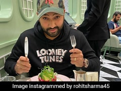Indian Cricketer Rohit Sharma And Ritika Sajdeh Enjoy A Foodie's Day Out (See Pic)
